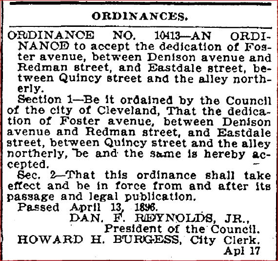 Image:Dedication of Foster Avenue (April 17, 1896 PD).JPG